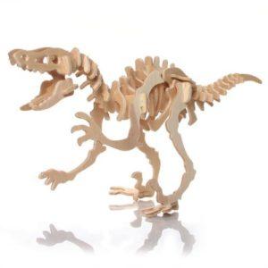 Toogoorpuzzle Jigsaw 3d In Legno Dinosauro Per Bambini Gioco Educativo 0