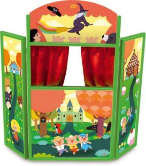 Vilac 4624 Racconta Le Tue Storie Teatro Delle Marionette Legno 0