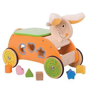 Bigjigs Toys Coniglietto Da Cavalcare 0