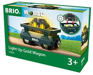 Brio Gmbh World 33896 Goldwaggon Con Luce Classica Accessori Ferrovia In Legno 0