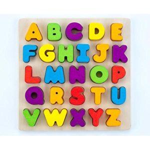 Engelhart Puzzle Lettere Alfabeto In Legno Montessori Prescolare 610031 0
