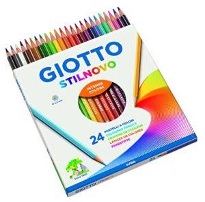 Giotto Stilnovo Pastelli Colorati In Astuccio 24 Colori 0