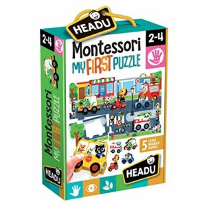 Headu Montessori First Puzzle The City 0