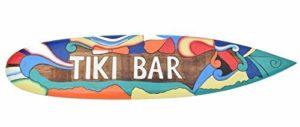 Interlifestyle Tavola Da Surf 100cm Tiki Bar Arte Art Decorazione Da Appendere Lounge Stile Ristorante 0