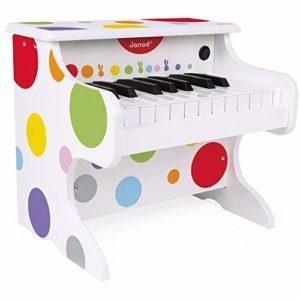 Janod Il Mio Primo Pianoforte Elettronico Confetti Multicolore J07618 0