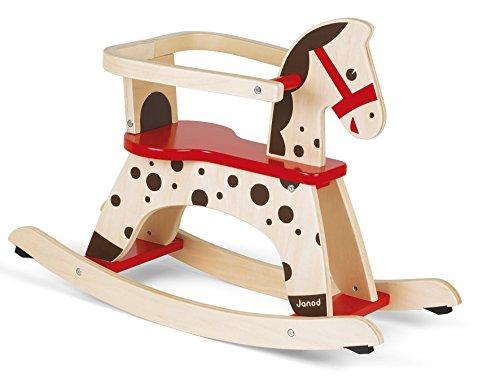 Janod J05984 Cavallo A Dondolo Caramel 0