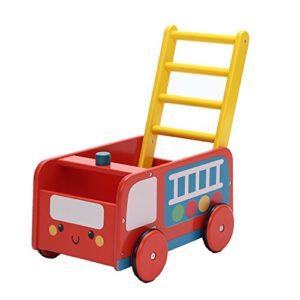 Labebe Carrello Spesa Giocattolo 2 In 1 Usa Come Girello Bambini Camion Rosso Fuoco Girello Bambini Primi Passi Per 1 3 Anni Girello Camcarrello Primi Passi Bimbacarrello Primi Passi Bambina 0
