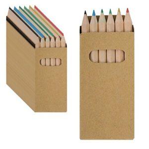Partituki Set Di 30 Scatole Di Matite Colorate Ognuno Con 6 Pastelli Colorati Regalo Ideale Per Piata O Feste Di Compleanno Per Bambini 0