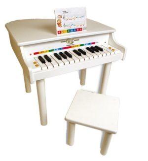 Reig 7093 Il Mio Grande Pianoforte A Coda Con Sgabello In Legno 0