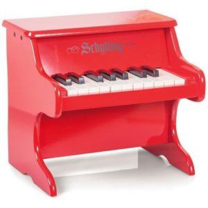 Schylling 4921181 Strumento Musicale Pianoforte In Legno Red 0