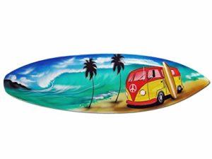 Seestern Sportswear Fba1750 Tavola Da Surf Decorativa In Legno Lunghezza 50 Cm 0
