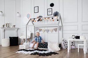 Sweet Home From Wood Letto Singolo Montessori Diversi Colori Grey Single Size 190x90cm 0