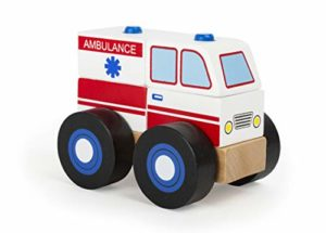 Veicolo Da Costruire Ambulanza In Legno 0
