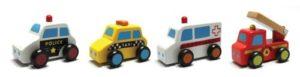 Viga Toys 59621 Veicoli Set 6 Cars 0