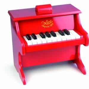 Vilac Giocattolo Prima Infanzia Pianoforte Colore Rosso Importato Da Francia 0