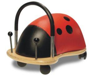 Wheely Bug Wblbl Carreto Da Spingerecavalcare Per Bimbi Da 3 A 6 Anni Coccinella Grande 0