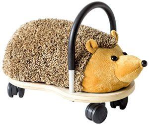 Wheely Bug Riccio Di Peluche Su Carretto Con Ruote Per Bambini 0