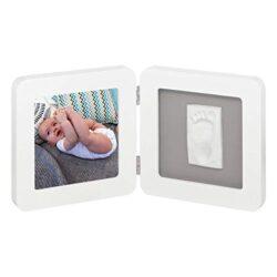 Baby Art My Baby Touch Simple Porta Foto Con Kit Impronta Per Mano O Piede Del Neonato Regalo Nascita O Bomboniera Per Battesimo Cornice Color Bianco 0