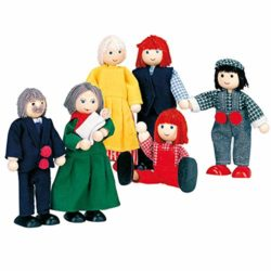 Bino 83563 Famiglia Di Bambole 6 Persone 0