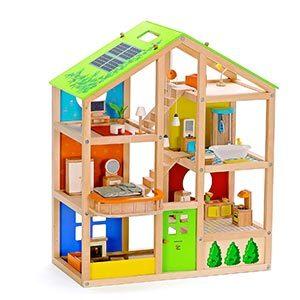 Casa delle bambole giocattolo