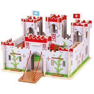 Castello Di Bigjigs Giocattoli Re Giorgio Castello Medievale Playset 0
