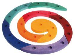 Colorate Spirale Compleanno Legno Grimm 0