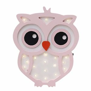 Cute Owl Lampade Notturne A Led In Legno Marquee Light Sign Lampade Da Tavolo Decorazione Da Parete Girls Baby Room Natale Wedding Led Light Sign 0