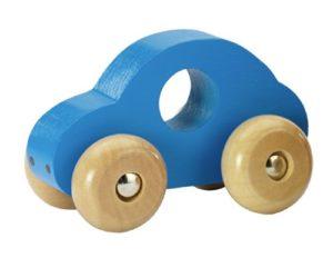 Fashy Macchinina In Legno Blu Blau 0