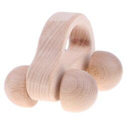 Fenteer 3 Pezzi Legno Musicale Sonaglio Per Bambini Educativi Montessori Sviluppo Sensoriale Suono Dentizione Giocattolo Auto Regalo Handbell 0 1