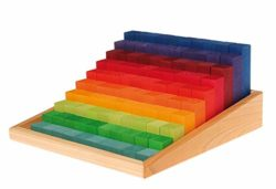 Grimms Toys Stepped Counting Blocks 0