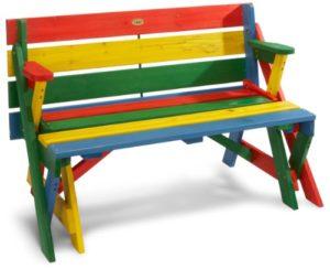 Habau 687 Set Tavolo E Panche Da Picnic Per Bambini 2 In 1 Colore 0