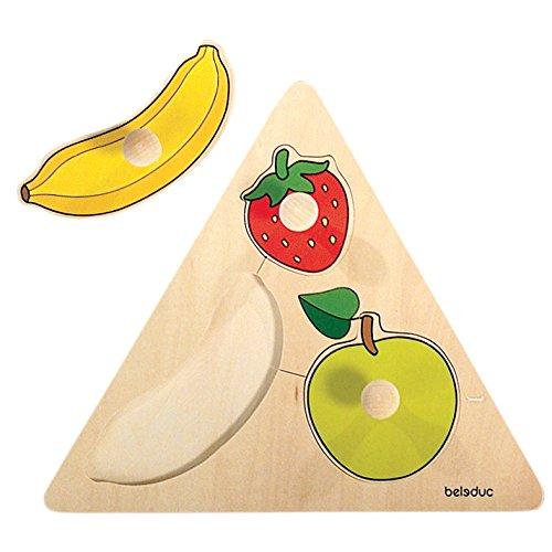 Hape 10120 Puzzle Pomelli Frutti 0