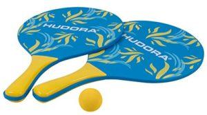 Hudora 2265773 Set Di 2 Racchette Palla 0
