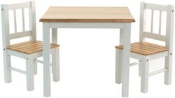 Ib Style Salottino Per Bambini Noa 3 Combinazioni Set Composto Da Tavolo Per Bambini E 2 Sedie 0