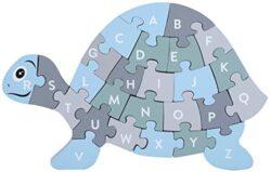 Kindsgut Puzzle In Legno Ad Incastro Lettere Gioco Per Imparare 0
