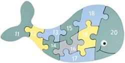 Kindsgut Puzzle In Legno Ad Incastro Numeri Colorato 0