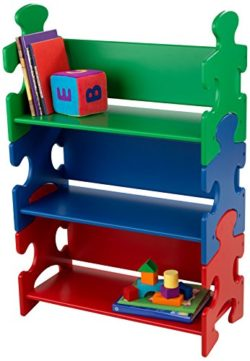 La Libreria Ideale Per Bambini La Libreria Stile Puzzle Colori Primari Offre Ampio Spazio Per Ospitare I Libri E Gli Altri Piccoli Tesori Dei Vostri Bambini 0