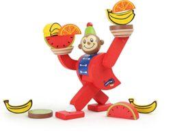 Legler 10007 Gioco Dequilibrio Per Bambini In Legno Scimmia Del Circo 0