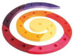 Legno Spirale Compleanno Rosso Grimm 0