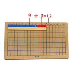 Magideal Giocattolo Educativo Matematica Montessori Apprendimento Strumento Insegnamento Per Bambini Bastoni Legno 0