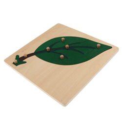 Magideal Modello Puzzle Jigsaw Peg Animale Fumetto Montessori Giochi Educativo Bambino Legno Regale Foglia 0