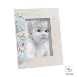 Mascagni Casa Cornice Portafoto Da Bambino Formato 13x18 Colore Azzurro Celeste 409 8003426023716 0