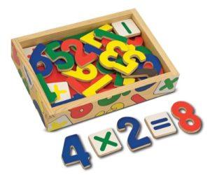 Melissa Doug 10449 37 Magneti Di Legno A Forma Di Numeri E Simboli 0