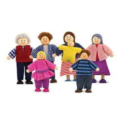 Melissa Doug 12464 Famiglia Di Bambole Di Legno 0