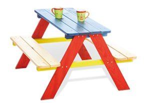 Pinolino Tavolino Da Picnic Per Bambini Per 4 2 Panche E 1 Tavolo 0