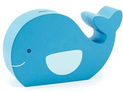 Pearhead 40002 Balena Salvadanaio In Legno 0