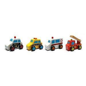 Polizia, pompieri e ospedale giocattolo