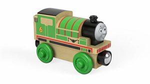 Trenino Thomas Locomotiva Percy Treno In Legno Giocattolo Fhm17 0