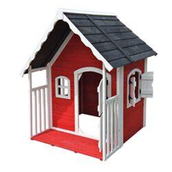 Wiltec Casa Casetta Giochi Per Bambini In Legno Con Veranda Giardino Esterno 0