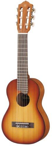 Yamaha Gl1 Guitalele Chitarra In Legno Con Dimensioni Ukulele 432 Cm Scala Da 17 6 Corde In Nylon Custodia Inclusa Da Viaggio Colore Tobacco Sunburst 0
